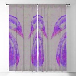 Soulmates Purple Blackout Curtain