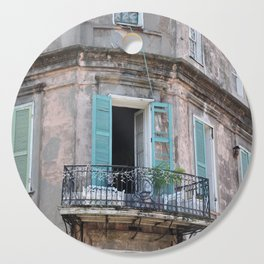 New Orleans French Quarter Balcony Cutting Board