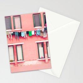 Laundry Venice Italy Travel Photography Stationery Cards
