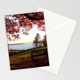 Meet me here Stationery Cards