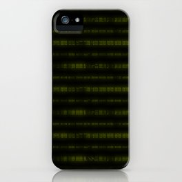 Lime Dna Data Code iPhone Case