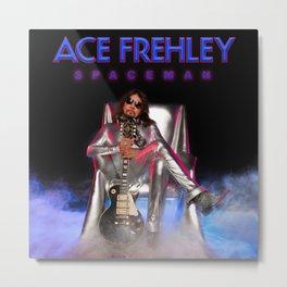 ACE FREHLEY SPACEMAN TOUR DATES 2019 BAKPAU Metal Print