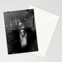 film photograph taken with crown graphic 4x5 camera Stationery Cards