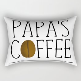 Papa's Coffee Rectangular Pillow