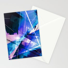 Prizism - Geometric Abstract Art Stationery Cards
