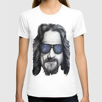 lebowski T-shirts featuring The Dude Lebowski by Black Neon