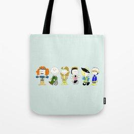 Mutant Superhero Friends Tote Bag