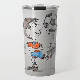 Soccer player Travel Mug