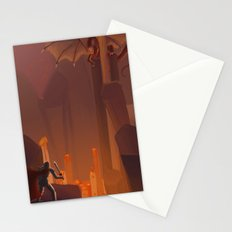 Into the Flames Stationery Cards