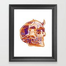 Satanic Panic Framed Art Print