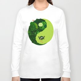 the tao of gardening Long Sleeve T-shirt