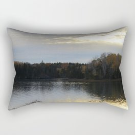 Downeast Autumn Reflections of Scattered Illuminations Rectangular Pillow