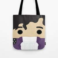prince Tote Bags featuring Prince by heartfeltdesigns by Telahmarie