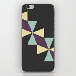 Oragami Traingles iPhone Skin