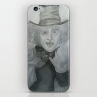 mad hatter iPhone & iPod Skins featuring Mad hatter by _littlevoice