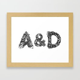 A&D Framed Art Print