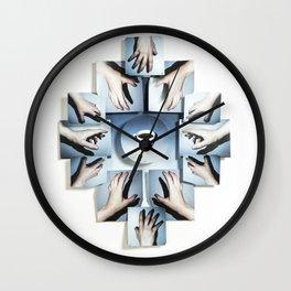 Caféine Junkie Wall Clock