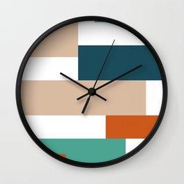 Nordic Geometry IV Wall Clock