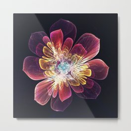 Tibet Sea Flower Metal Print