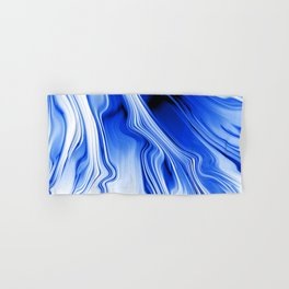 Streaming Blues Hand & Bath Towel