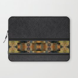 Textured Southwestern Stripe Pattern Laptop Sleeve