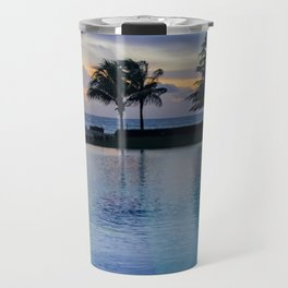 Poolside at Dawn Travel Mug