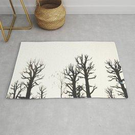 Minimalist Trees Rug