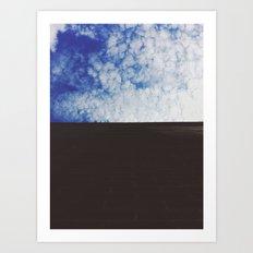 look to the sky . iii Art Print