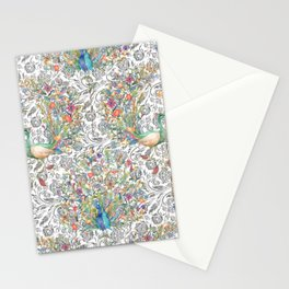 PEACOCK COLOURFULLY Stationery Cards
