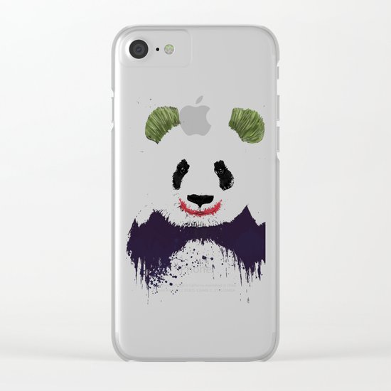 Jokerface Clear iPhone Case