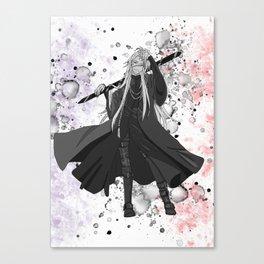 Black Butler Kuroshitsuji Undertaker Canvas Print