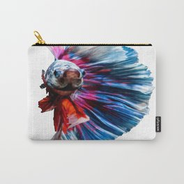 Magnificent Betta Splendens Freshwater Fish Carry-All Pouch