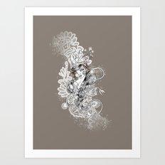 Gipsy Art Print