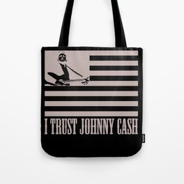 i trust johnny cash Tote Bag