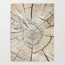 Wood Cut Poster