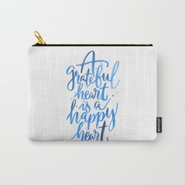 Grateful Heart Carry-All Pouch