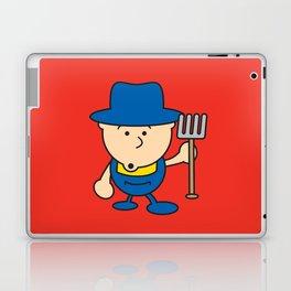 Ooh Zoo – farm-series, Farmer Laptop & iPad Skin