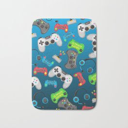 Video Games Bath Mat