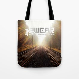 going home trackside Tote Bag