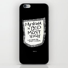My shield iPhone Skin