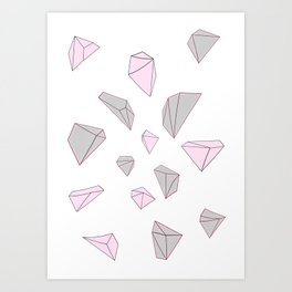 Diamond 2 Art Print