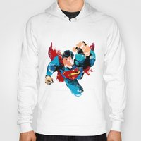 hero Hoodies featuring HERO by ALmighty1080
