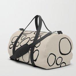 Daisy Circles Duffle Bag