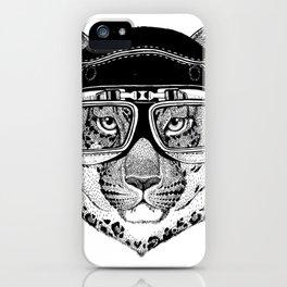 Leopard Speed Rebel iPhone Case