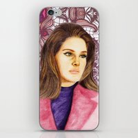 ultraviolence iPhone & iPod Skins featuring LANA II by Share_Shop