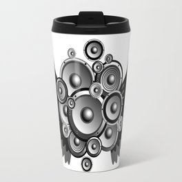 Abstract music illustration Travel Mug
