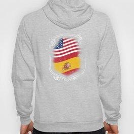 Spanish American Flag Hoody