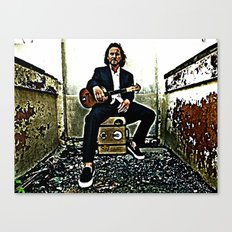 Eddie Vedder | Oil Painting Canvas Print