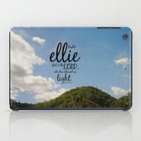 ellie goulding iPad Cases featuring Ellie by KimberosePhotography