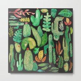 Watercolor nature collab with @rodrigomffonseca Metal Print